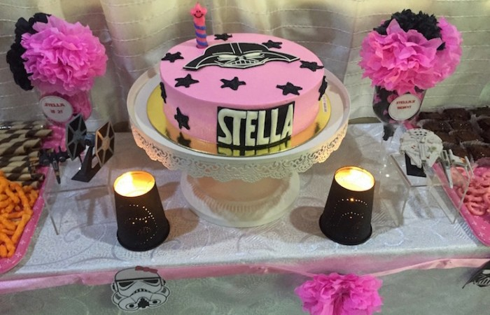Stella's Star Wars Party