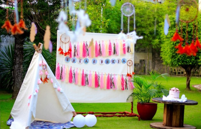Bhea and Bhria's Boho Chic Party