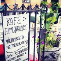 Cafe Himlavalvet i Sockholm, stans bästa våfflor!