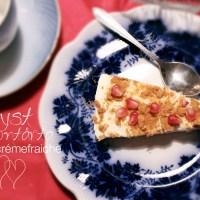 Fryst crémefraiche-tårta med citron!