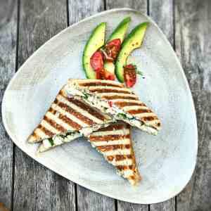 Sandwich mit Hähnchenbrust