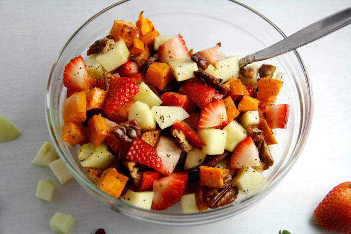 Sweet Potato Summer Salad: Two Ways
