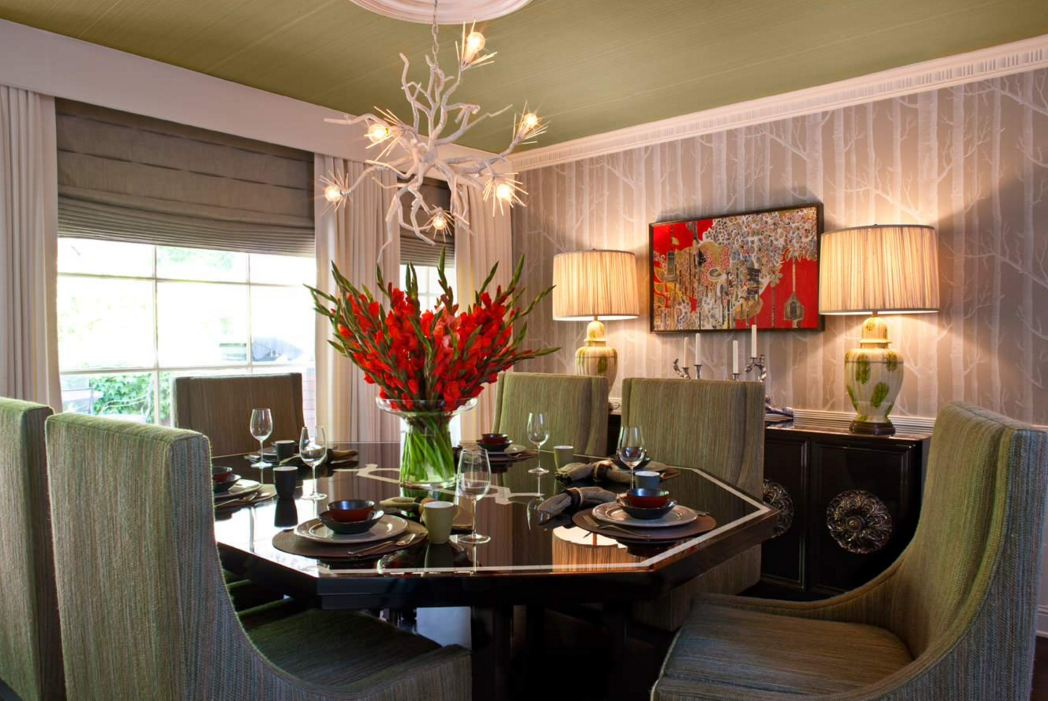 Dining Table Centerpiece Ideas - Dining Room