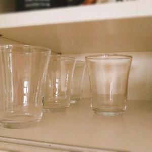 セリアのグラス