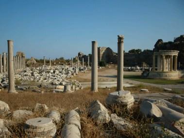 2. Side, A Roman temple