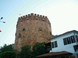 4. Alanya, The Red tower