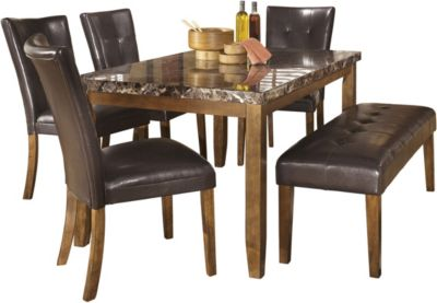Ashley Lacey 6 Piece Dining Set Homemakers Furniture