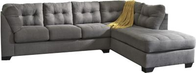 ashley maier charcoal 2 piece sectional