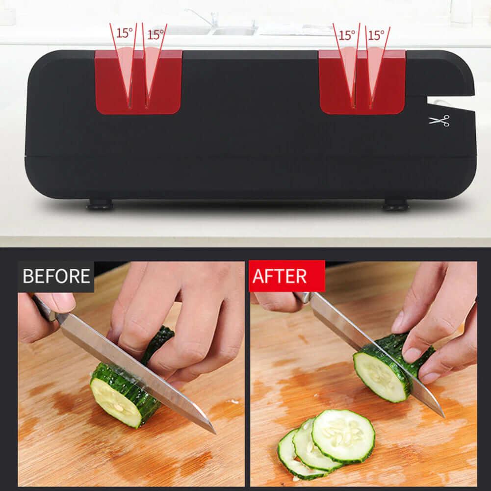 Home Master Электрическая ножеточка