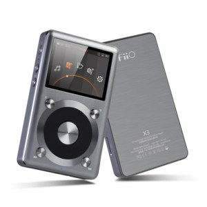 FiiO X3ii / X3K Portable Audio Player Front & Back Grey