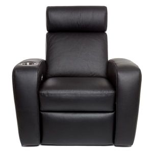 Palladio Napoli Single Seat Home Cinema Seating Black
