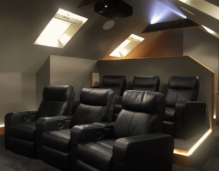 Home Media Cinema Installation