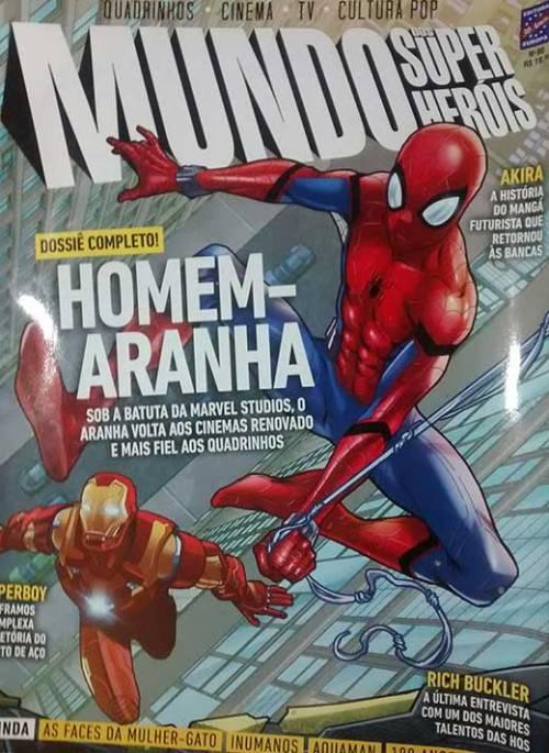 Revista Mundo dos Super-Heróis - Capa