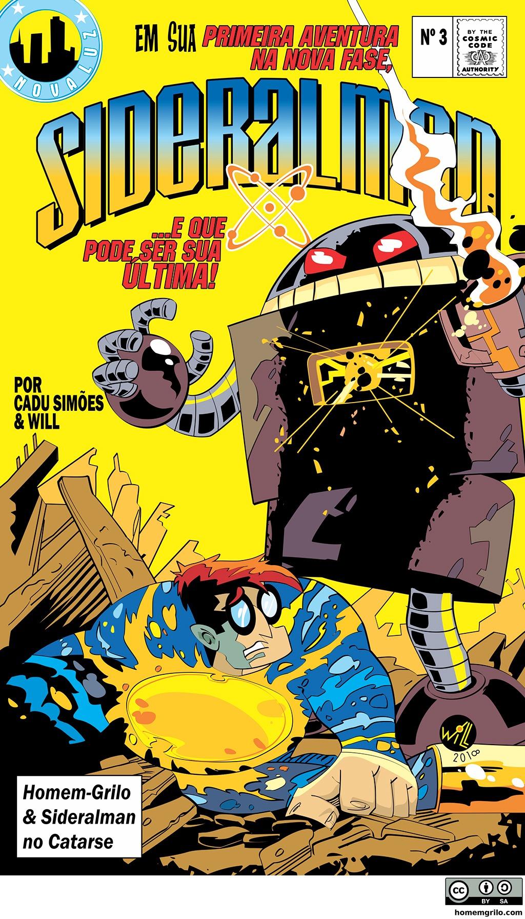 O Retorno do Robô-Retrô – Capa