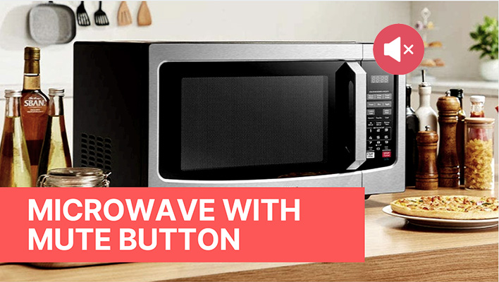best microwaves with mute button