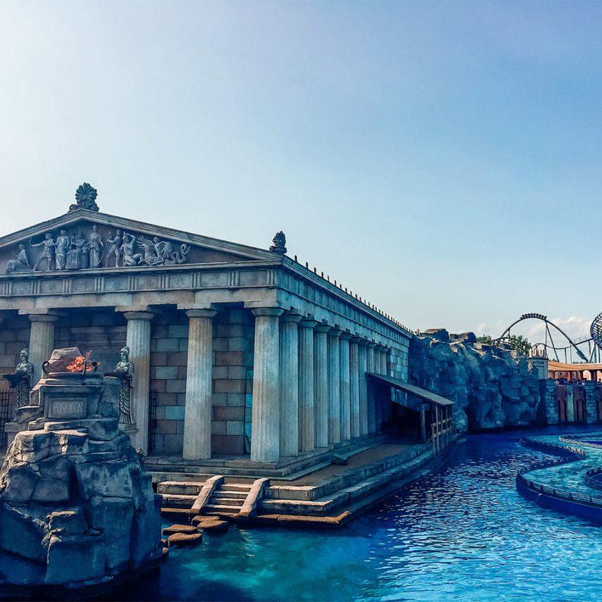 Europa-park quartier grec