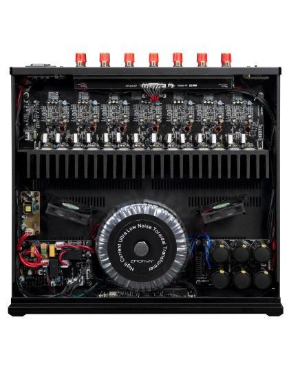 Emotiva BasX A-700 7 csatornás végfok, végerősítő