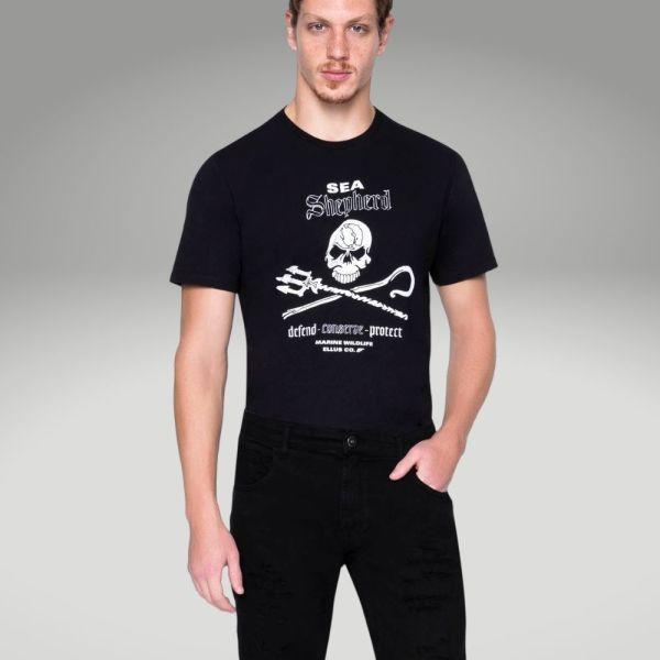 Peças básicas do guarda-roupa masculino - calça preta - Único
