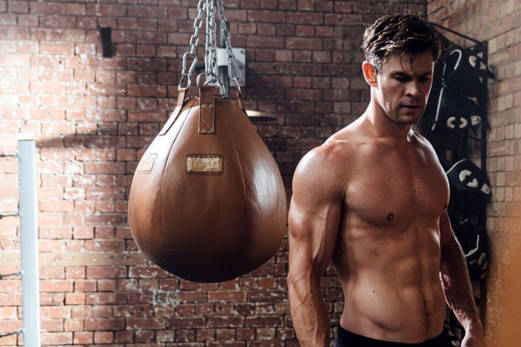 Único Os treinos monstros dos super-heróis do cinema - Chris Hemsworth - Thor