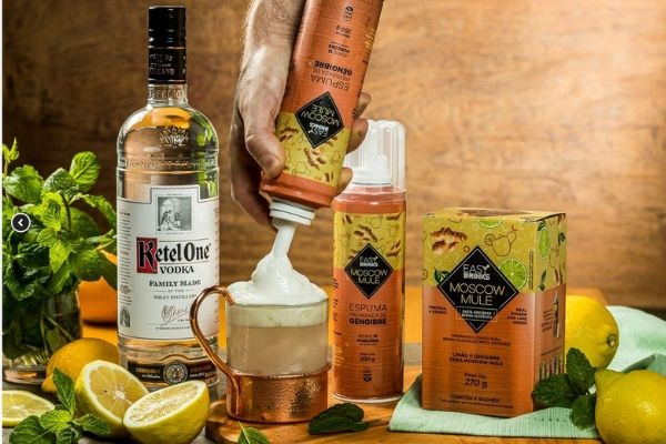 Único - Sachês de frutas para preparar drinks Easy Drink