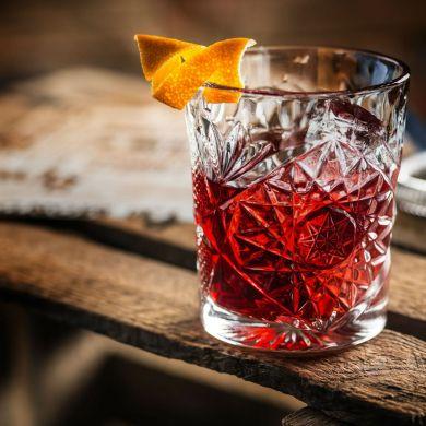 Único - Negroni drinque - coquetel