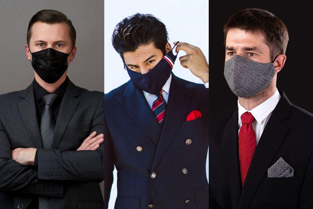 Único - como usar máscara masculina - moda homem