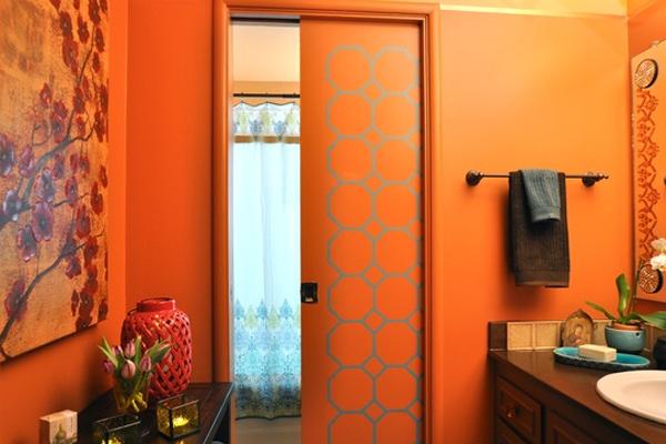 Bathroom Ideas Orange extraordinary 50+ orange bathroom design decorating design of 31