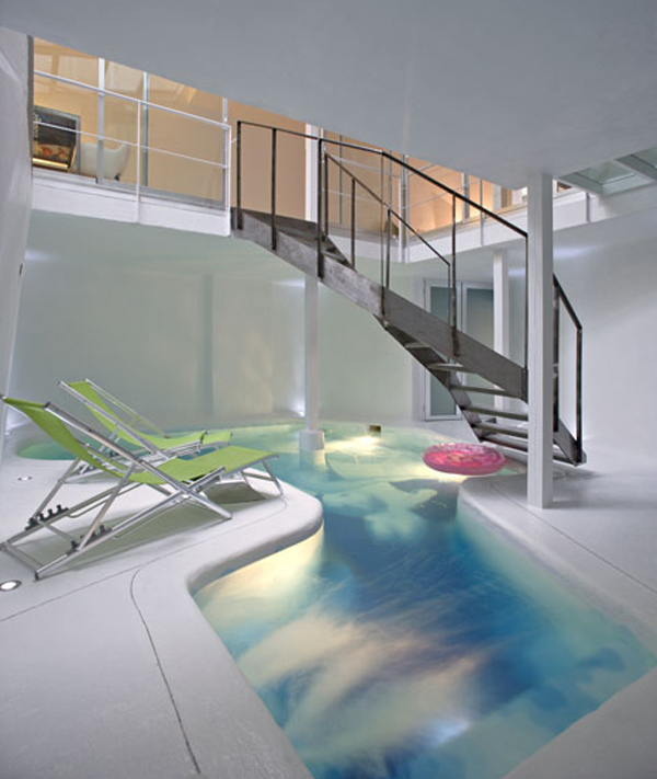 Indoor Pools In Casa Rota House By Manuel Ocana Architects