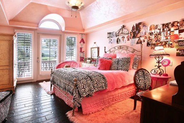 17 Stylish Girl Bedroom Design With Pink Color Home
