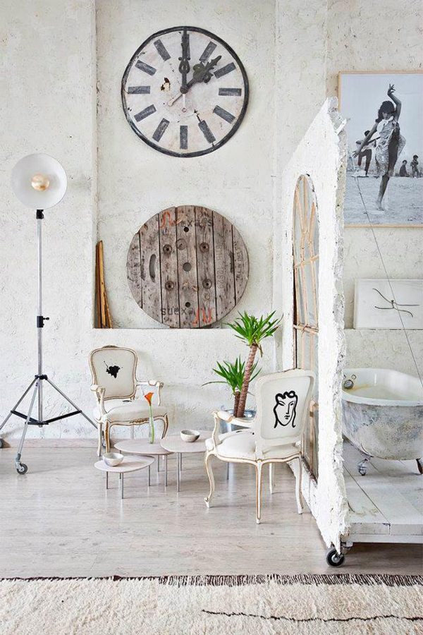 Bohemian Loft Apartment Decor