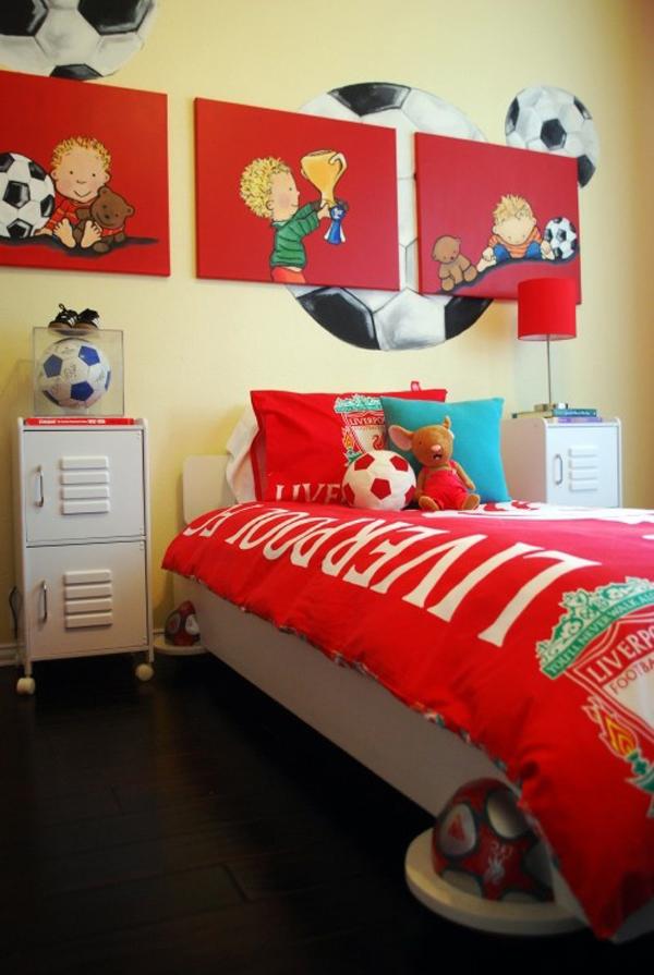 Girls Football Bedroom Ideas Novocom Top