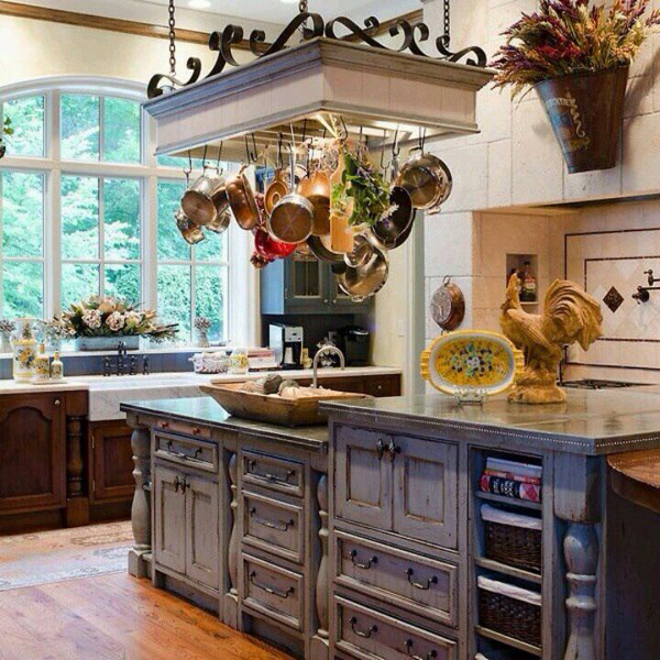 Home Kitchen Ideas Decorating. french country cottage vintage ...