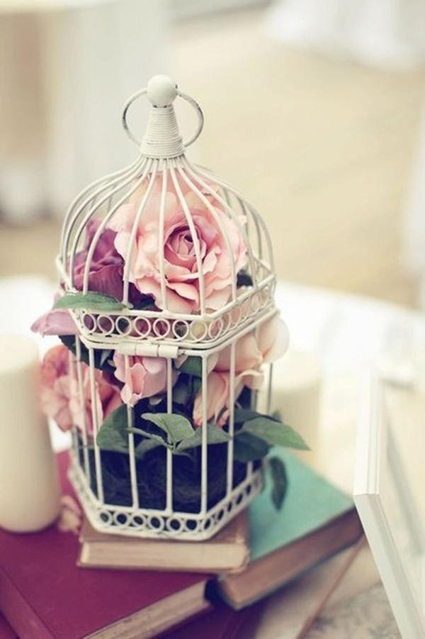 Cage Centerpiece Bird Ideas
