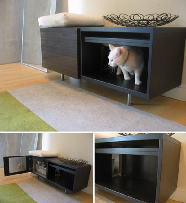 27 Awesome Cat Litter Box Home Design And Interior
