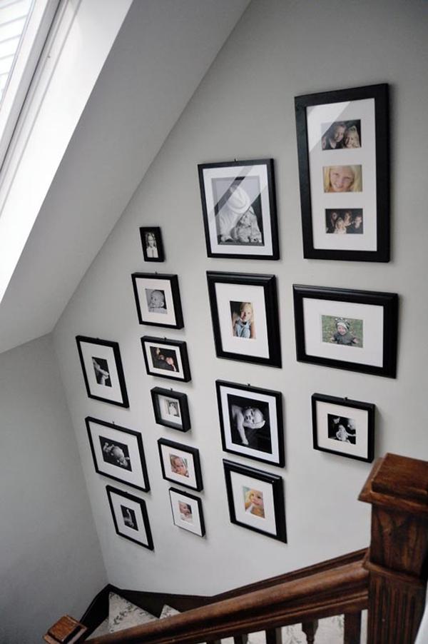 Family Album In Stairway