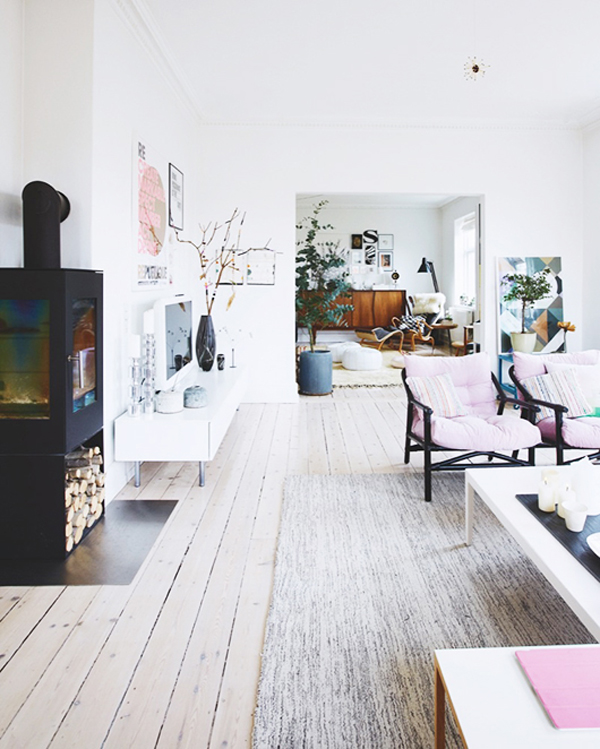 Shabby Chic House In Danish Home Design And Interior