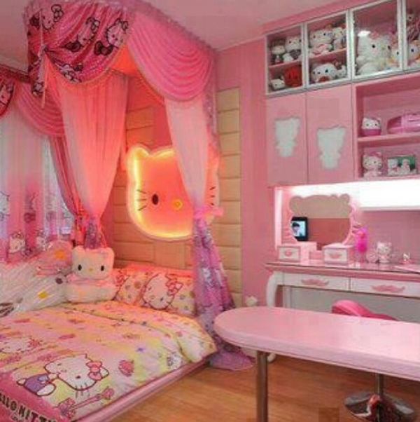 25 Hello Kitty Bedroom Theme Designs Home Design And Interior