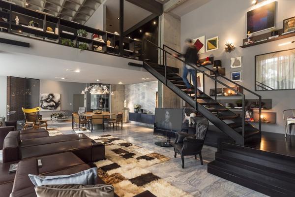 Contemporary Artful Apartment In Brazil