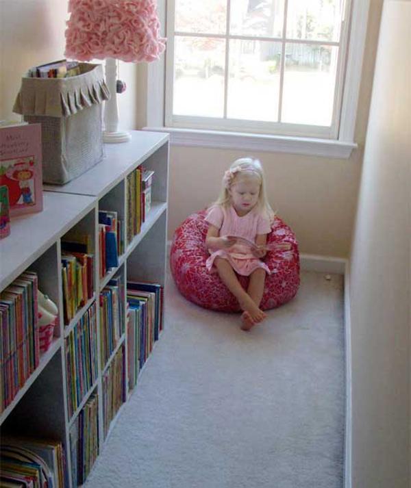 Comfortable Kids Reading Nook Ideas