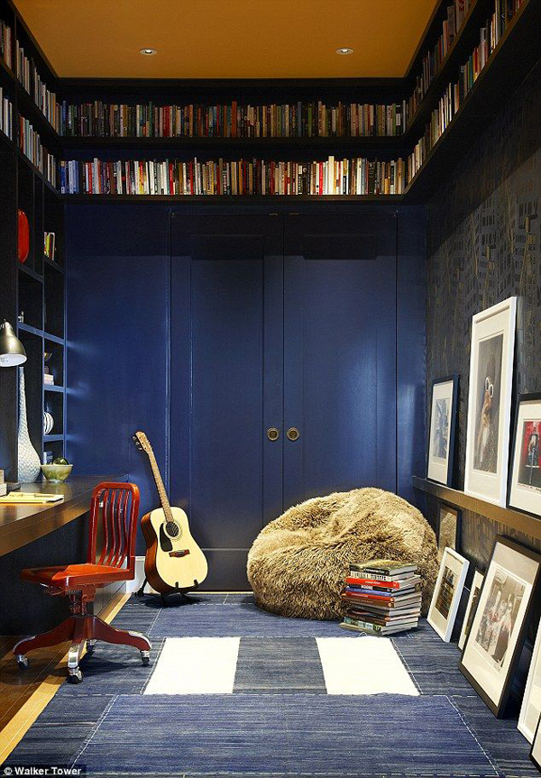 music-bedroom-library