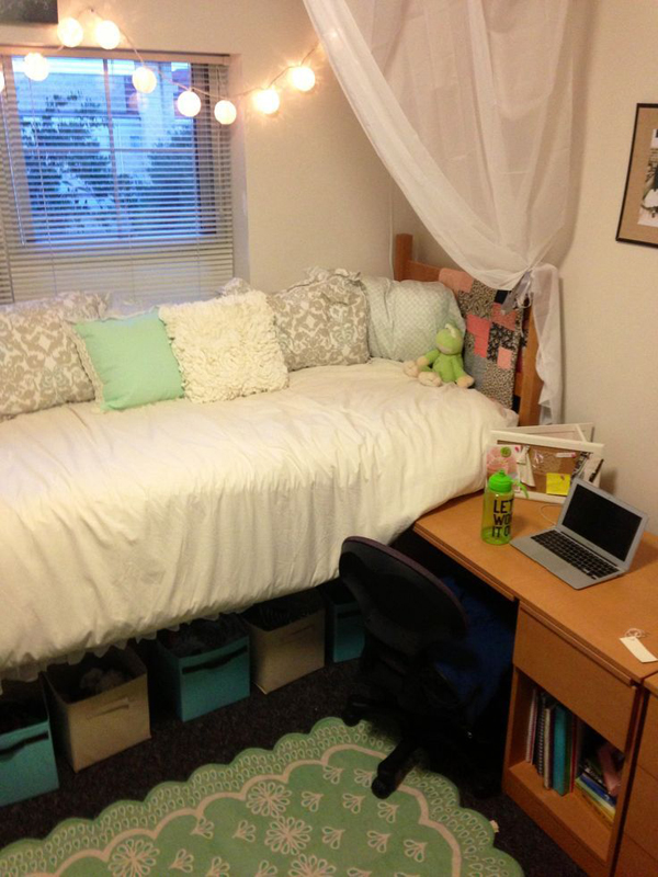 20 Diy Dorm Canopy Beds Homemydesign