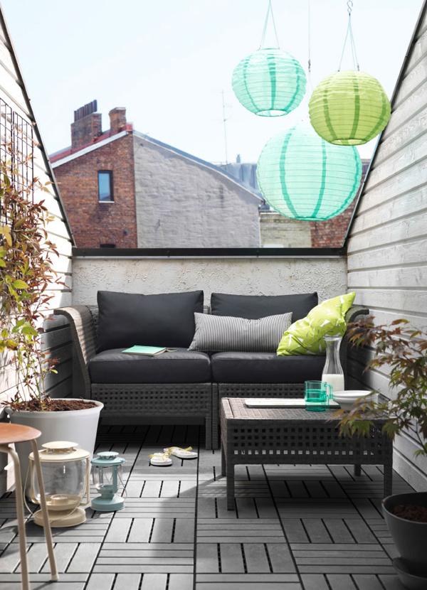 Modern Balcony Design From IKEA