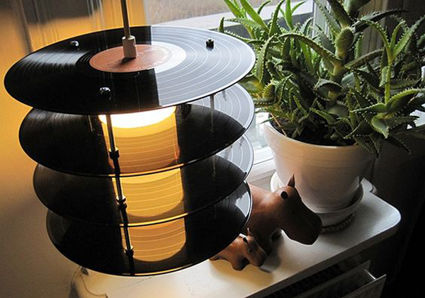 20 Cool And Useful Old Vinyl Records Home Design And Interior