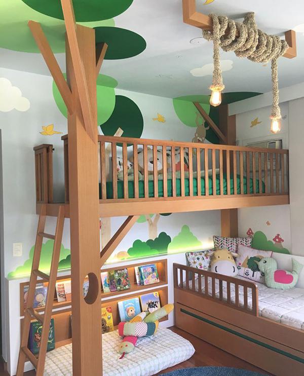 22 Imaginative Kids Jungle Room To Creative Explorer Homemydesign