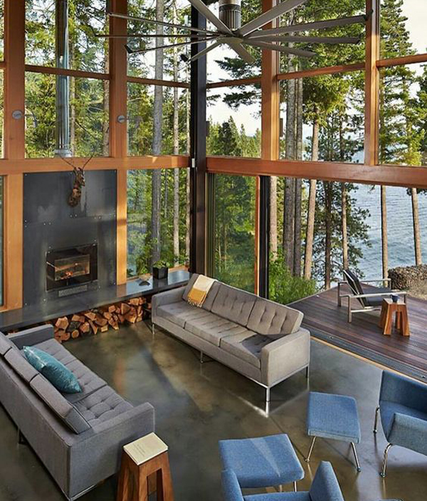 25 Natural Living Rooms Integrated With Outdoor Spaces Home Design And Interior