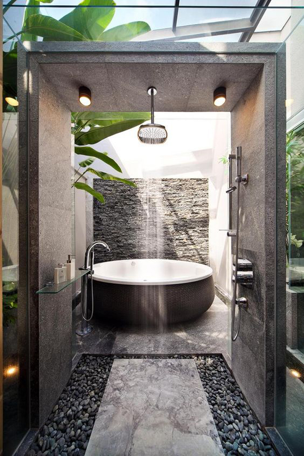 20 Nature Inspired Bathrooms That Will Refresh You