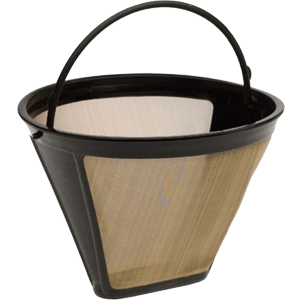 #4-Cone-Shape-Permanent-Coffee-Filter