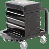 Omega 92450 Black Tool Box Creeper