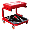 Torin Big Red Rolling Creeper Garage/Shop Seat: Padded Mechanic Stool