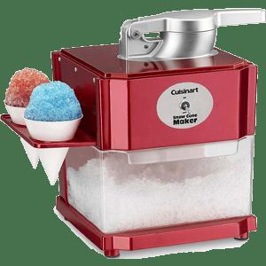 Cuisinart-SCM-10-Snow-Cone-Maker,-Red